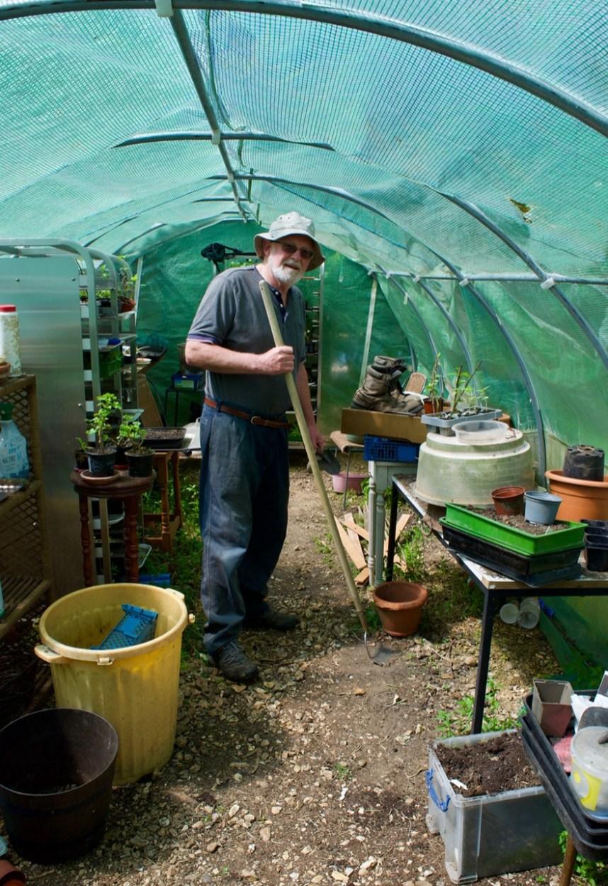 Fr Michael Gardening