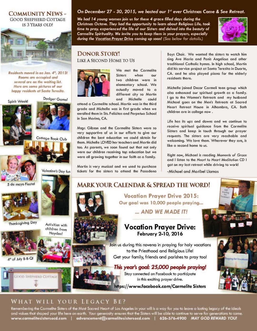 January 2016 Newsletter - page 2