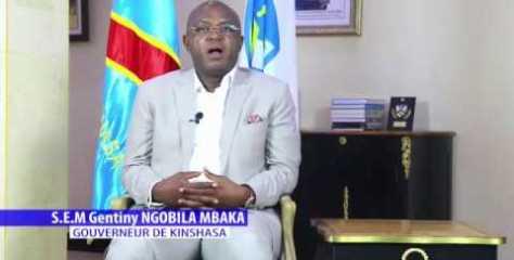 CONFINEMENT TOTAL A KINSHASA LANCE PAR LE GOUV. GENTINY NGOMBILA MBAKA