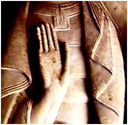 Sculpture du cloître, Santo Domingo de Silos