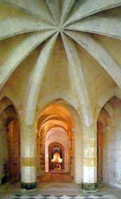 Crypte, Chapelle Sainte-Maxime, Auxerre 13e siècle