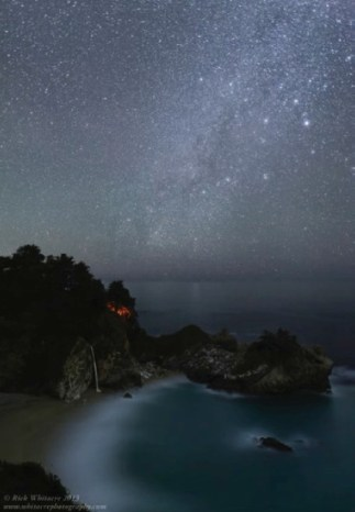 Camping Under the Stars–McWay Falls by Rick Whitacre