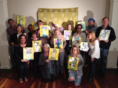 iPaint Nights paint and sip