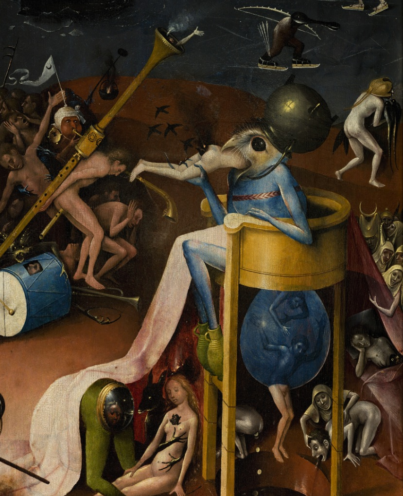 DETAIL — Garden of Earthly Delights by Hieronymus Bosch