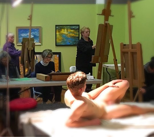 Figure Drawing and Painting Sessions