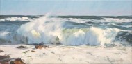 Rolling Surf 12x24""