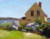 afternoon in Stonington 11x14 - Copy