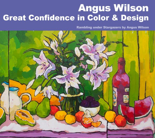 Angus Wilson | Still Life Painting