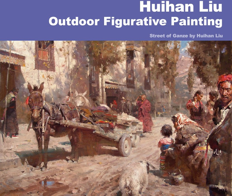 Artist Spotlight: Huihan Liu — Outdoor Figurative Painting