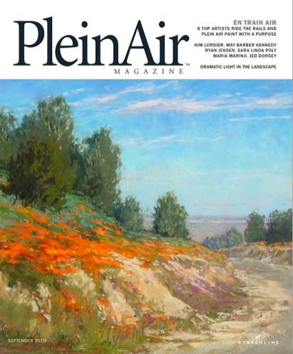 Plein Air Magazine Cover-Artist, Kim Lordier.