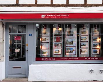 Carmen Itsas Mendi  Agencia inmobiliaria en Urrugne