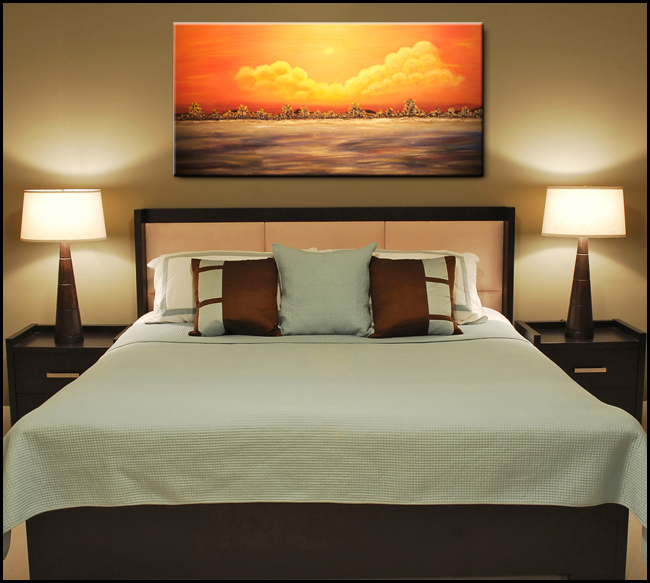 Pics For > Bedroom Paintings Photos