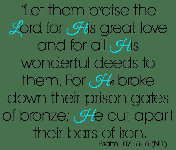 Psalm 107 15-16