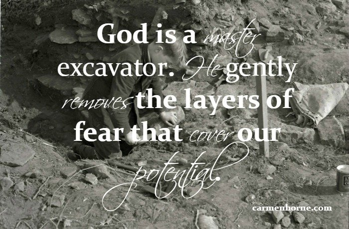 God excavator