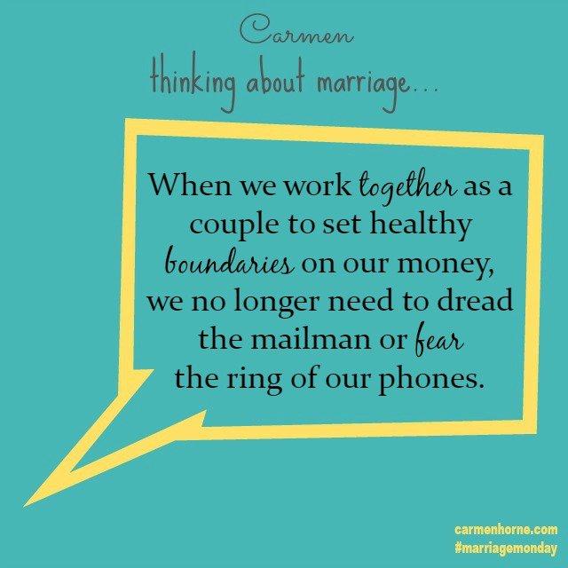 Marriage Monday 5-25-15