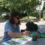 outdoor painting class