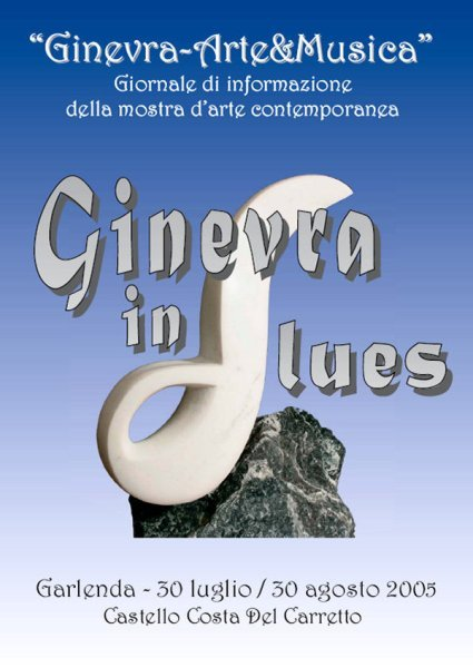 GINEVRA IN BLUES - CATALOGO 2005