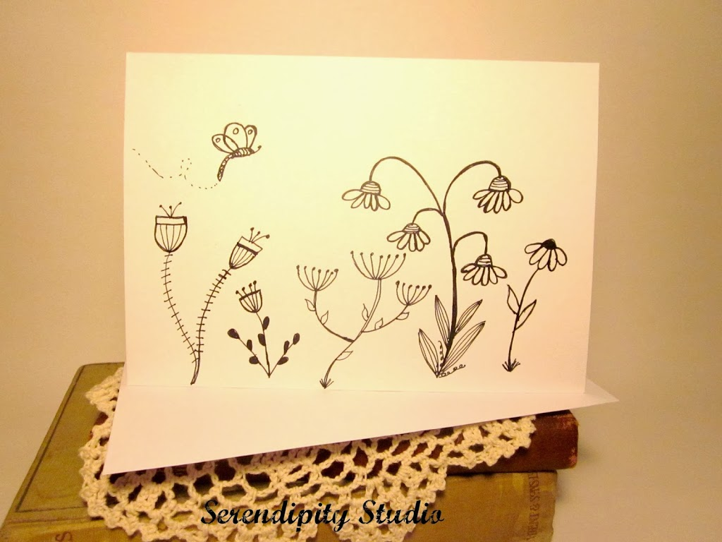 Doodling archives carmen whitehead designs hand drawn doodled greeting cards kristyandbryce Gallery