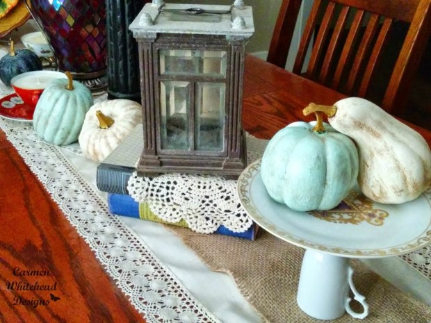 Thrifty Fall Table by Carmen Whitehead Designs