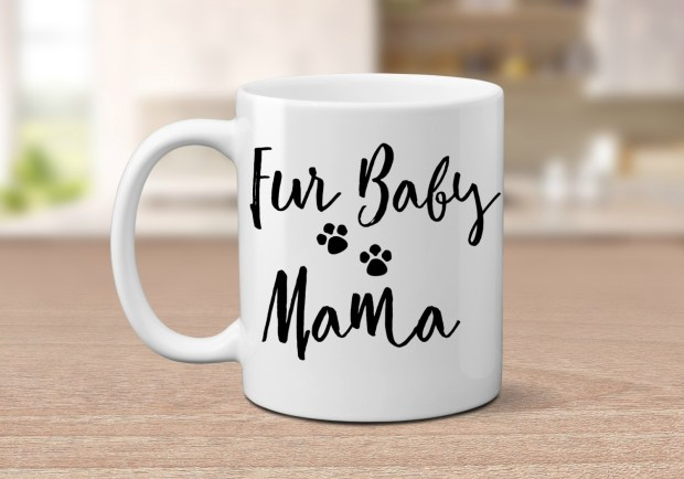 Fur Baby Mama - created by The Mug Life Etsy shop