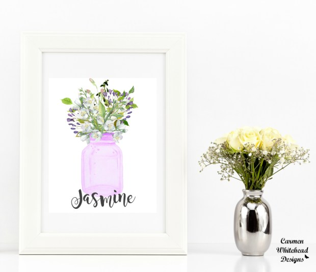 Custom Printable Artwork by Carmen Whitehead Designs