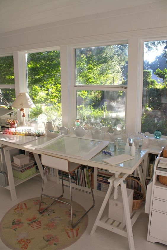 10 More Inspiring Creative Spaces - Carmen Whitehead Designs