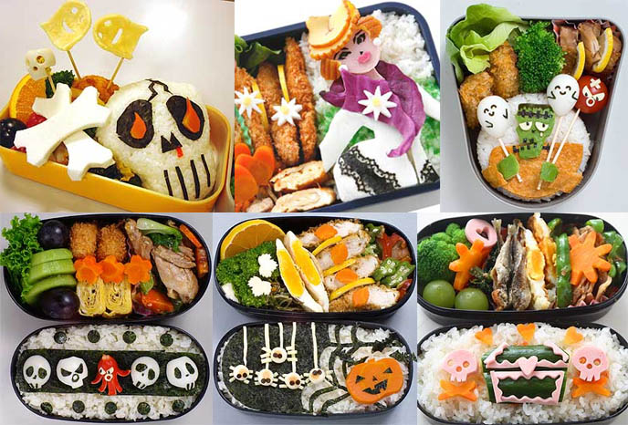 Adorable Japanese bento boxes, cooking cute.