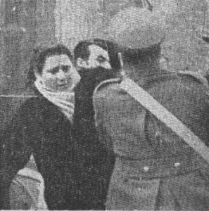 Bologna: una carica del 1953.