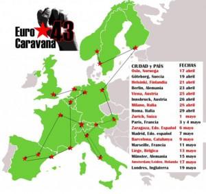 EuroCaravana43 Ayotzinapa
