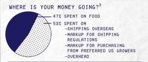 Haiti graph money goes