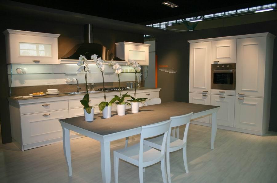 salone del mobile Bergamo stand cucine Snaidero mod