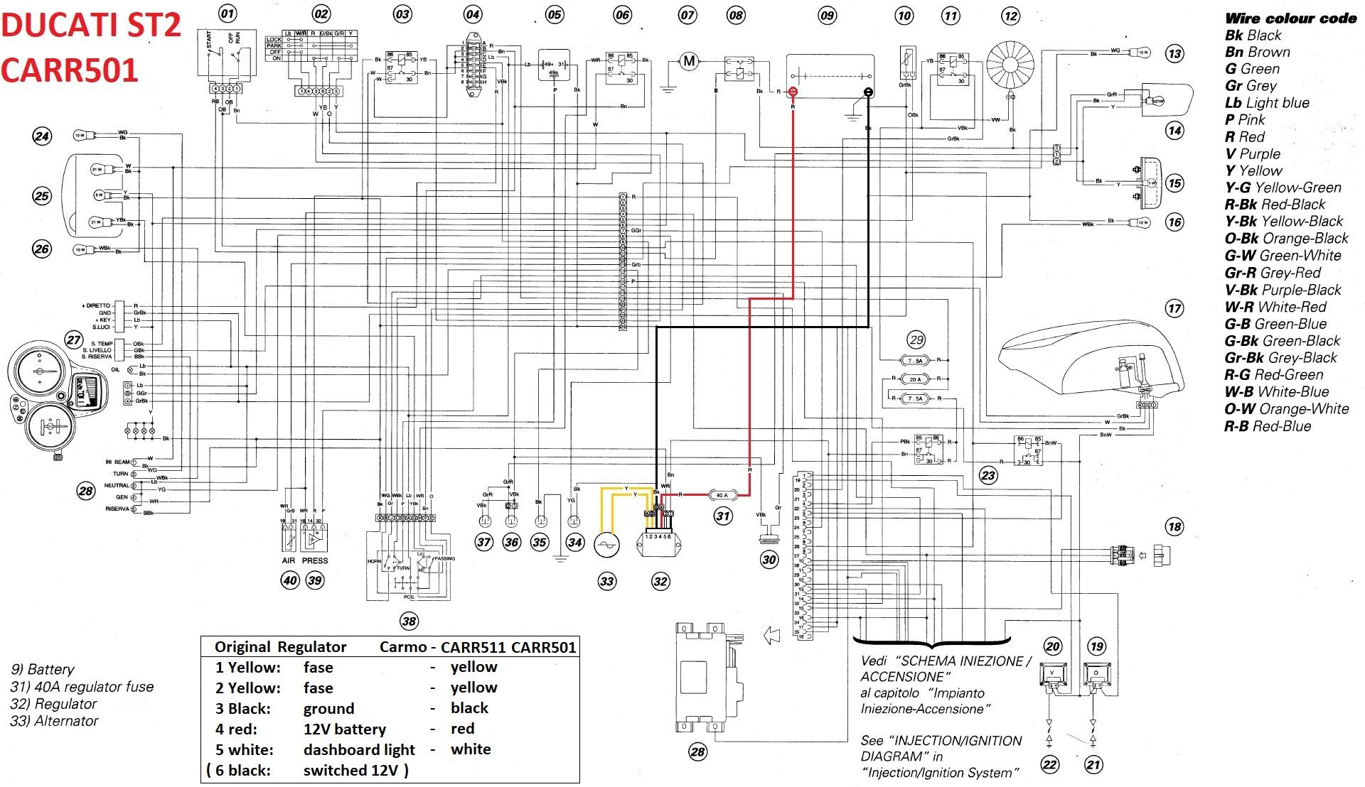 2001 yamaha r6 wiring diagram