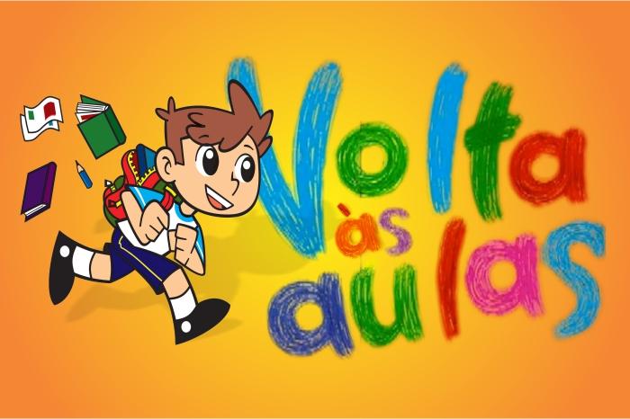VOLTA ÀS AULAS NA SEGUNDA-FEIRA