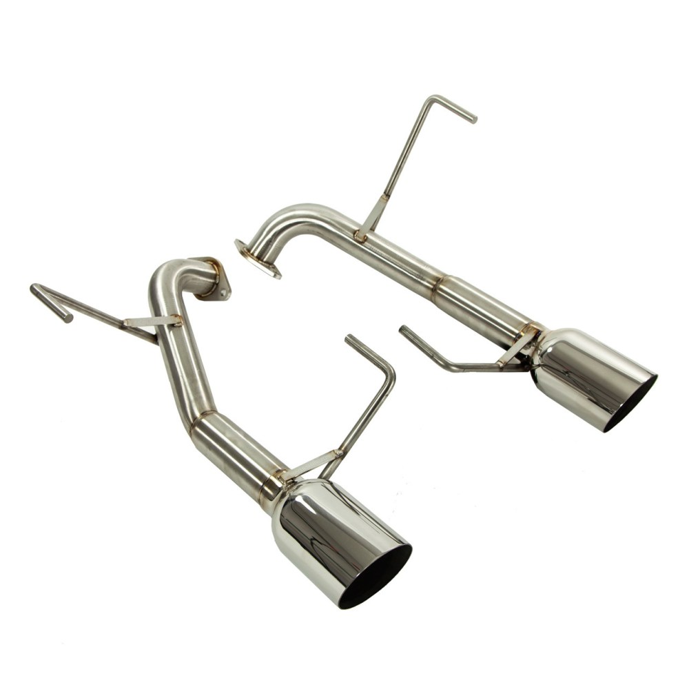 medium resolution of muffler delete axle back exhaust 4 tips liberty gt wagon 04 09