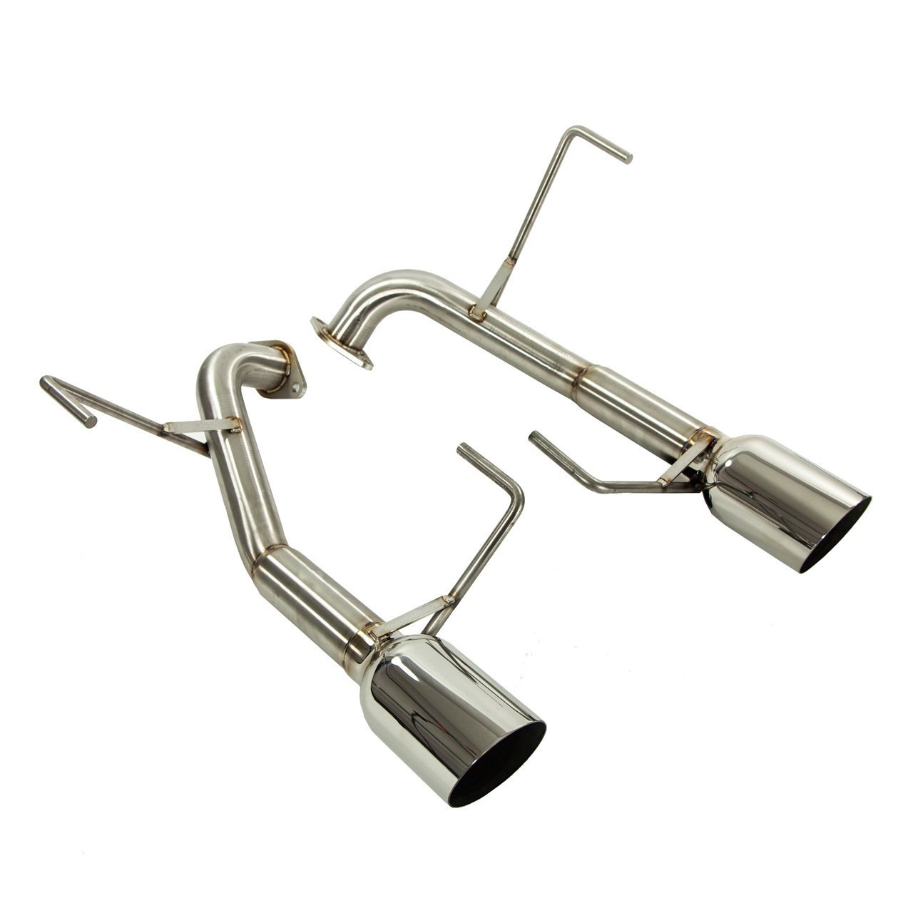 hight resolution of muffler delete axle back exhaust 4 tips liberty gt wagon 04 09