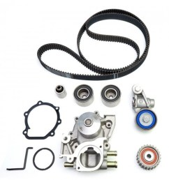 gates stock replacement timing belt kit w water pump wrx sti 06 14  [ 1000 x 1000 Pixel ]