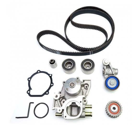 hight resolution of gates stock replacement timing belt kit w water pump wrx sti 06 14