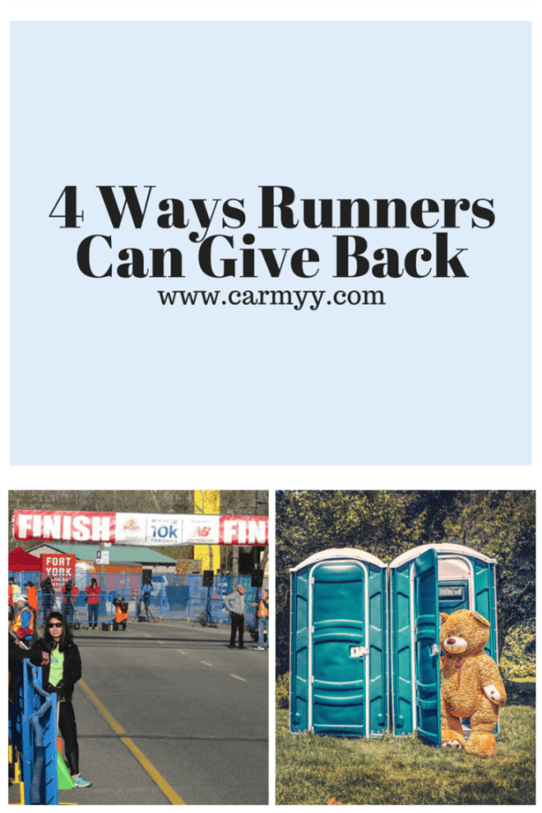 4 Ways Runners Can Give Back