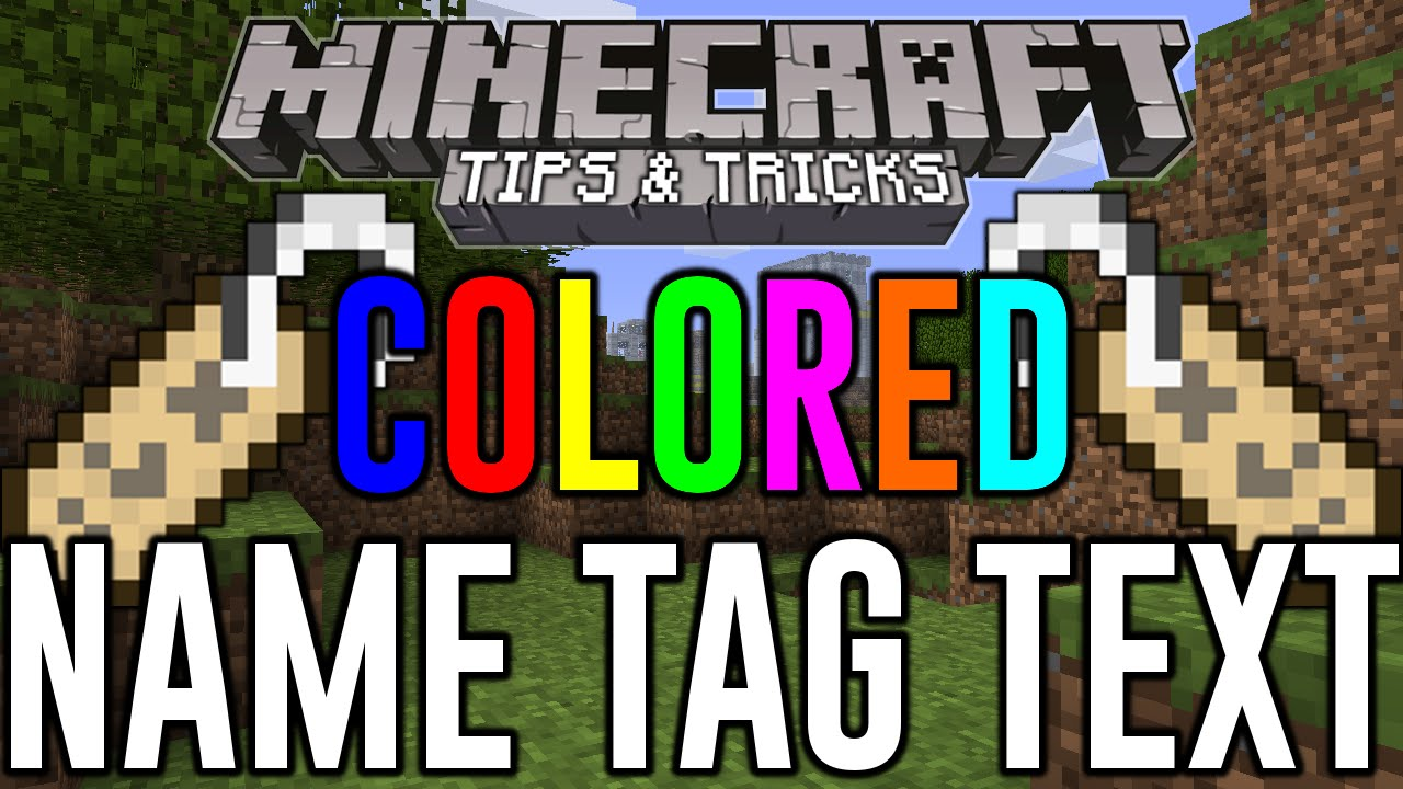 Minecraft Xbox One Colored Name Tag Text Hidden Color Glitch Minecraft Ps4 Minecraft Xbox One Carnage The Creator