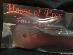 House of Eros Dagger Strap Tag.