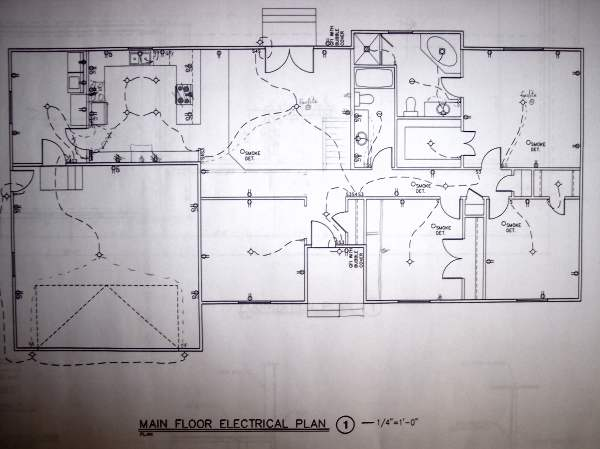 Electrical And Telecom Layout House Plan Electrical Symbols