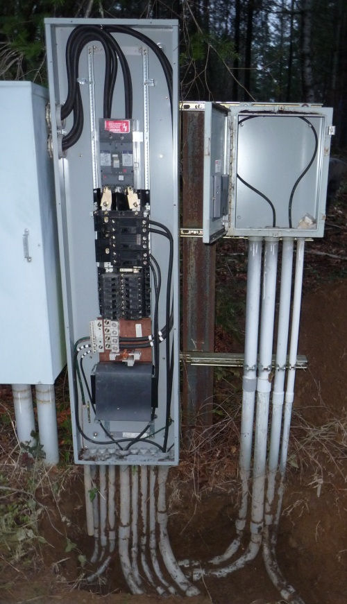 Volt Breaker Wiring Diagram Electrical Feed To Panels