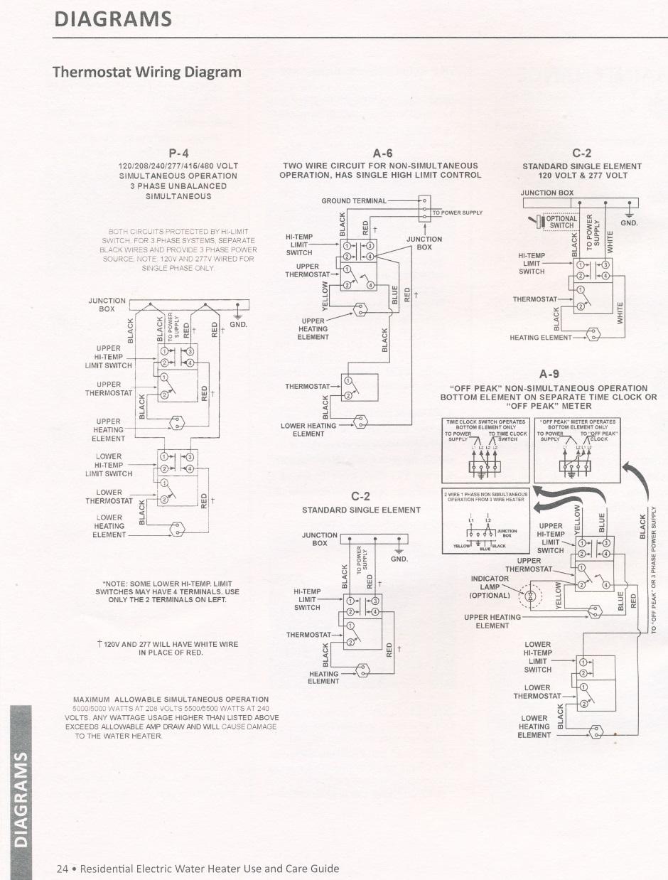 medium resolution of water heater aosmith manual 24