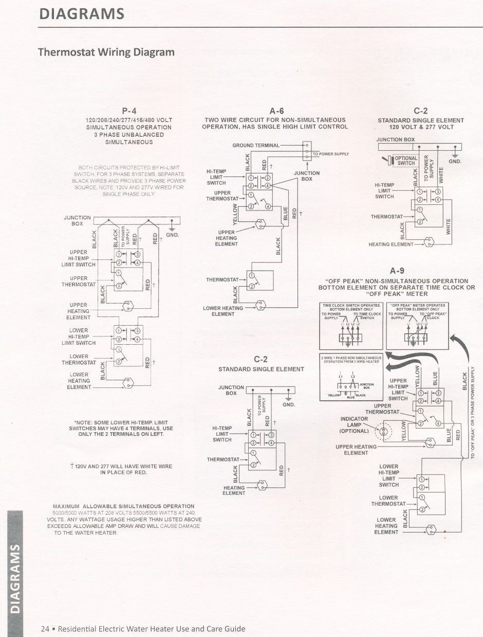 hight resolution of water heater aosmith manual 24