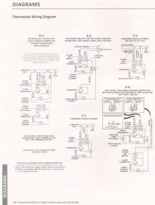 small resolution of water heater aosmith manual 24