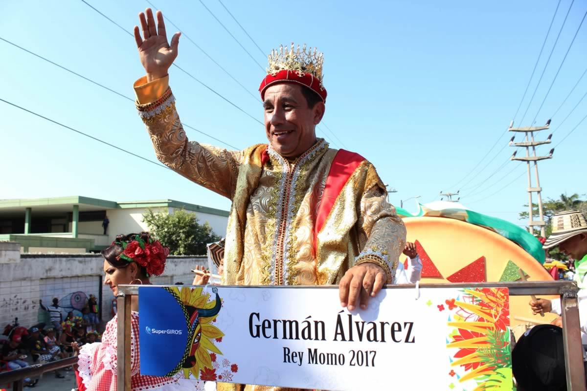 Gran Desfile del Rey Momo  Carnaval de Barranquilla