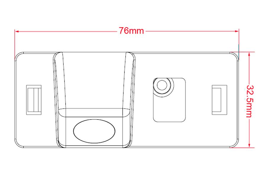 Reverse Camera for Audi TT : Aftermarket Navigation Car