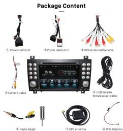 mercedes benz slk class r171 2004 2010 radio upgrade slk350 2006 stereo wiring harness adapter [ 900 x 975 Pixel ]