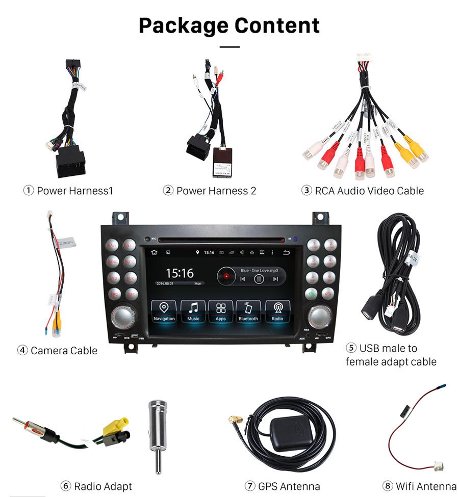 medium resolution of mercedes benz slk class r171 2004 2010 radio upgrade slk350 2006 stereo wiring harness adapter