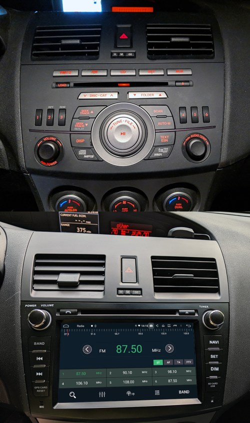 small resolution of mazda 3 android aftermarket navigation autoradio